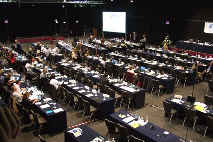 Walfangkonferenz. Foto: WDCS