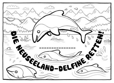 Ein Kleiner Delfin Braucht Deine Hilfe