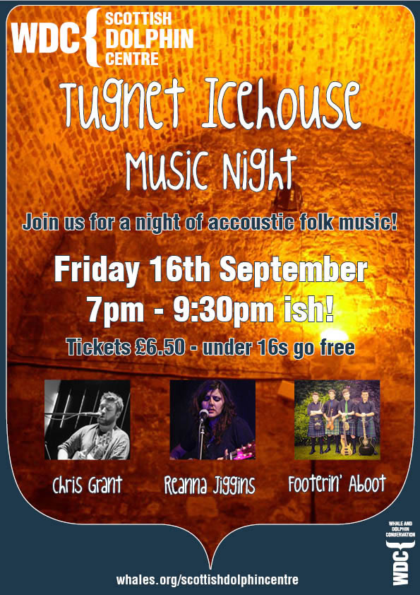 Music night at the Scottish Dolphin Centre