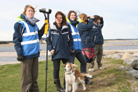 Shorewatch volunteer