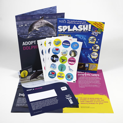 Adopt a dolphin kids pack